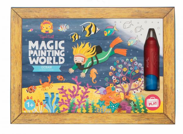 Набор для рисования водой Tiger Tribe «Океан», фото , изображение 5