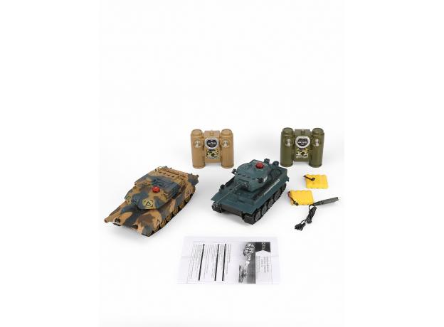 Игровой набор «Танковый бой», радиоуправление, фото , изображение 4