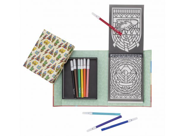 Набор для создания витражных рисунков Tiger Tribe «Солнечный день», фото , изображение 2