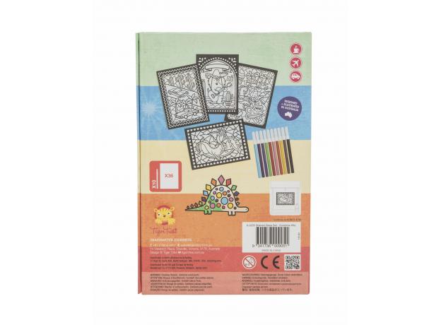 Набор для создания витражных рисунков Tiger Tribe «Солнечный день», фото , изображение 3