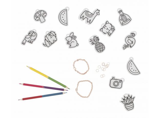 Набор для создания украшений Tiger Tribe «Браслеты с шармами», фото , изображение 3