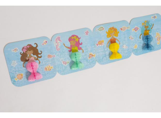 Набор для творчества с бумажными фонариками Tiger Tribe «Русалки», фото , изображение 7