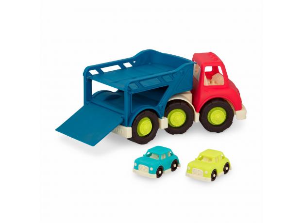 Автовоз с 2 машинками Battat, фото