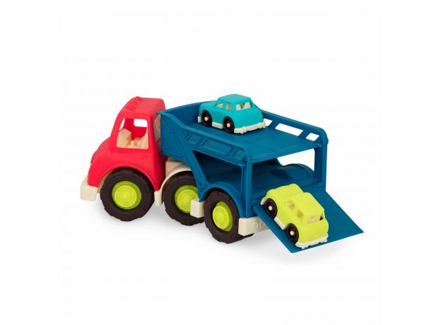 Автовоз с 2 машинками Battat, фото , изображение 2