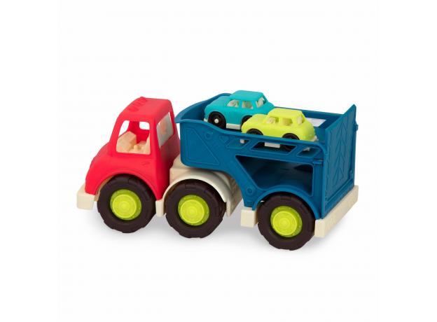 Автовоз с 2 машинками Battat, фото , изображение 3