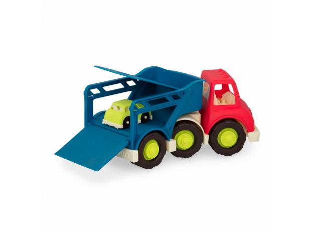 Автовоз с 2 машинками Battat, фото , изображение 4