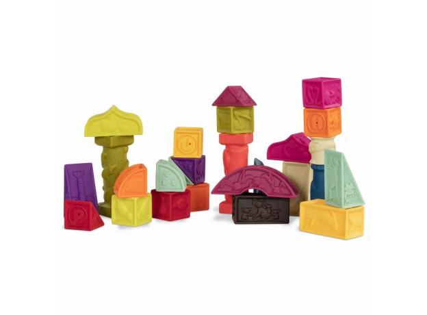 68617-1 Конструктор мягкий: кубики и другие формы, фото , изображение 3