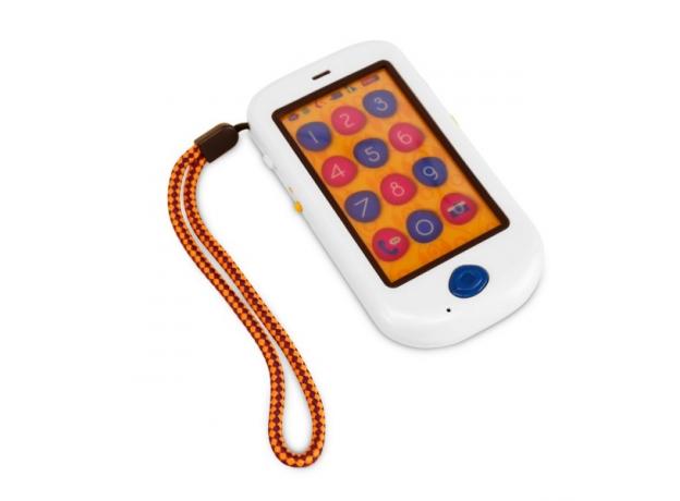 Игрушка«Смартфон»; жемчужный, фото