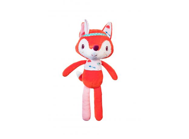 Мягкая игрушка «Лиса Алиса»; подарочная упаковка, фото , изображение 2