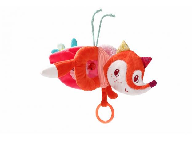 Книжка-игрушка на подвеске Lilliputiens «Лиса Алиса», фото , изображение 3