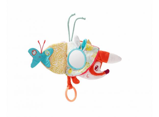 Книжка-игрушка на подвеске Lilliputiens «Лиса Алиса», фото , изображение 4