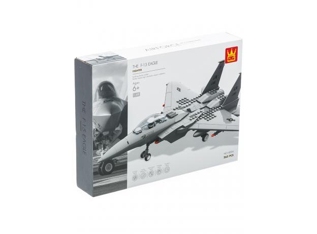 """Конструктор """"Legion. Истребитель F15 Eagle"""", 262 эл., фото , изображение 6"""