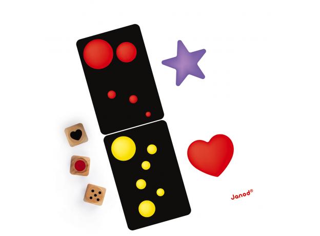 Настольная игра Janod «Цвета и формы», фото , изображение 2