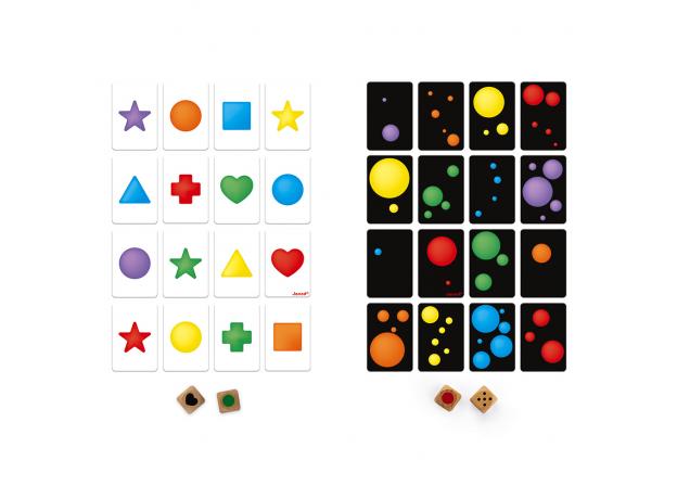 Настольная игра Janod «Цвета и формы», фото , изображение 3