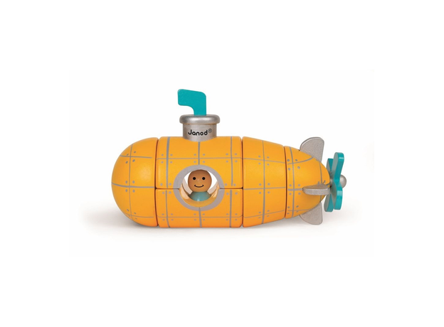 Магнитный конструктор Janod «Подводная лодка», фото