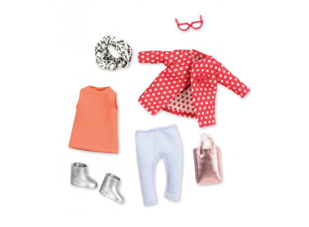Комплект одежды для куклы Lori с плащом, фото , изображение 2