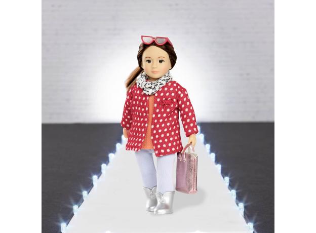 Комплект одежды для куклы Lori с плащом, фото