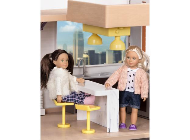 Дом для куклы с аксессуарами; пластмассовый, фото , изображение 6