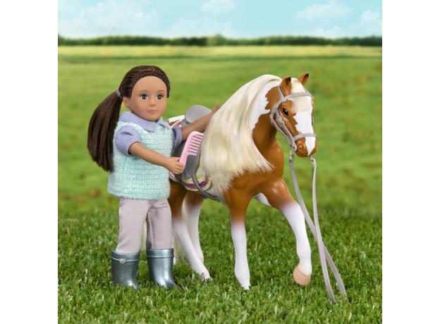 Лошадь породы «Американская пятнистая» Lori с аксессуарами, фото , изображение 2