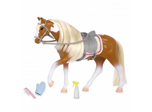 Лошадь породы «Американская пятнистая» Lori с аксессуарами, фото
