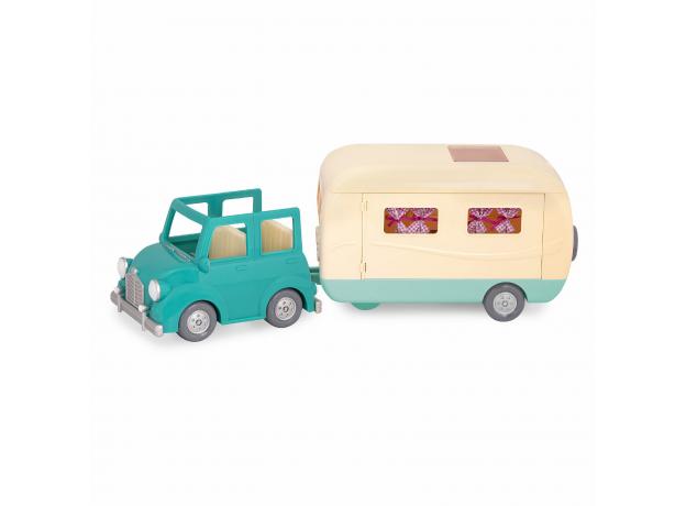 """Набор игровой """"Дом на колёсах"""" с аксессуарами голубой, фото , изображение 2"""