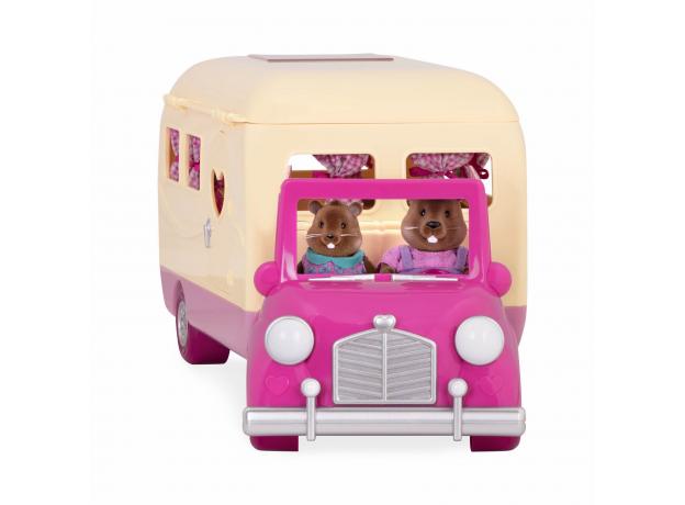 Игровой набор Li'l Woodzeez «Дом на колёсах» с аксессуарами, фото , изображение 3