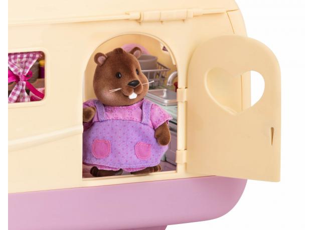 Игровой набор Li'l Woodzeez «Дом на колёсах» с аксессуарами, фото , изображение 4