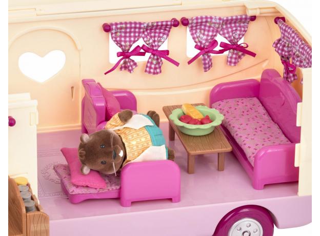 Игровой набор Li'l Woodzeez «Дом на колёсах» с аксессуарами, фото , изображение 6