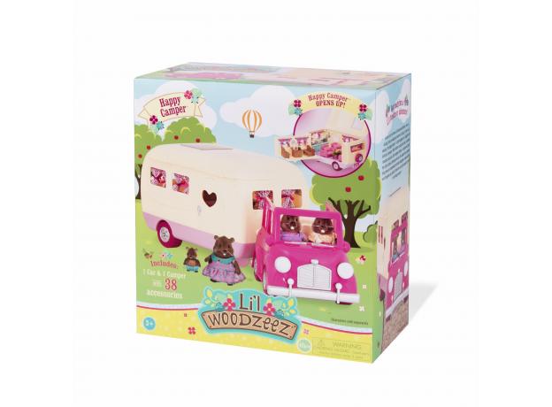 Игровой набор Li'l Woodzeez «Дом на колёсах» с аксессуарами, фото , изображение 10