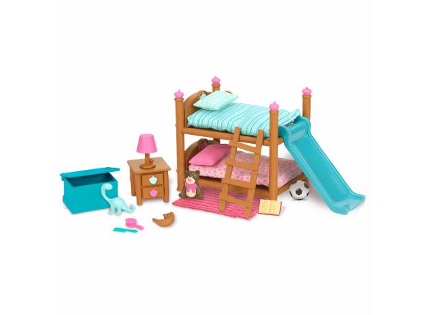 """Набор мебели игровой """"Детская и двухъярусная кровать"""", фото"""