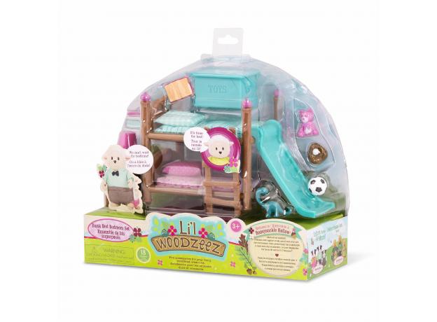 """Набор мебели игровой """"Детская и двухъярусная кровать"""", фото , изображение 2"""