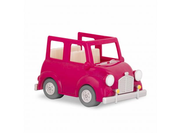 Машина с чемоданом Li'l Woodzeez; розовый, фото