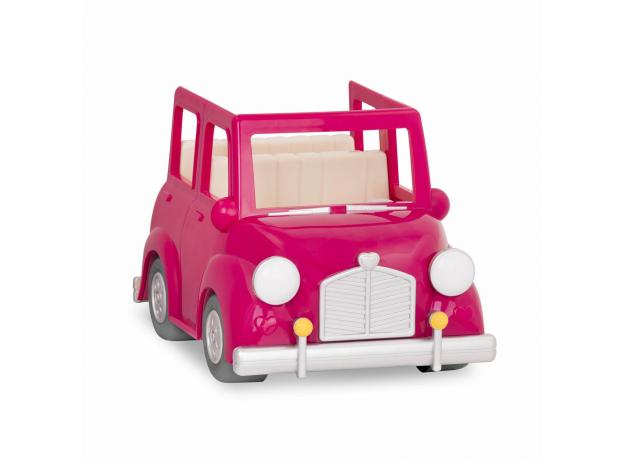 Машина с чемоданом Li'l Woodzeez; розовый, фото , изображение 4