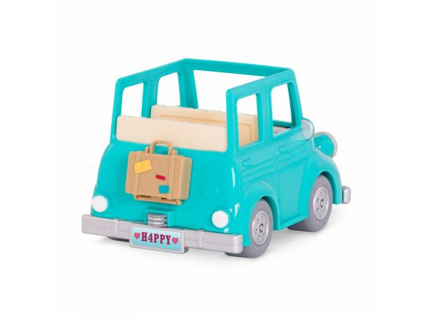 Машина с чемоданом Li'l Woodzeez; голубой, фото , изображение 3