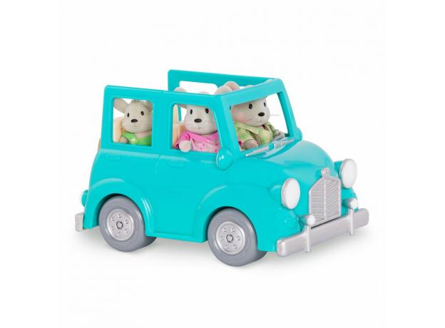 Машина с чемоданом Li'l Woodzeez; голубой, фото , изображение 6