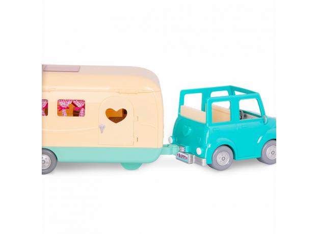Машина с чемоданом Li'l Woodzeez; голубой, фото , изображение 8
