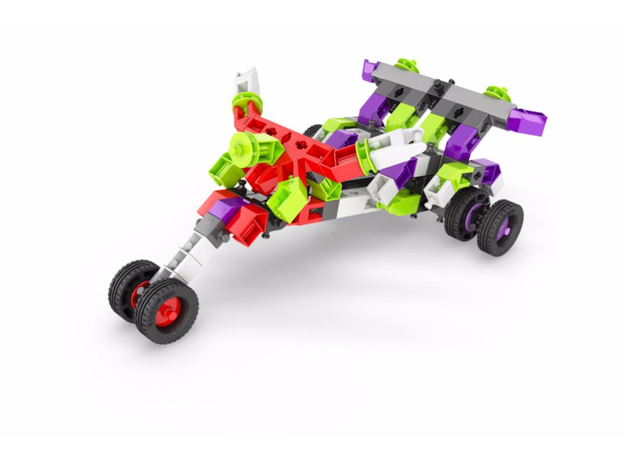 Конструктор: Скоростные механизмы. Драгстер, серия STEM HEROES, штрих-код 5291664003185, ст.18, фото , изображение 5