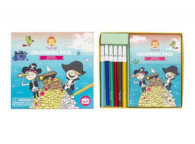 Набор для рисования Tiger Tribe «Пираты»; малый, фото , изображение 8