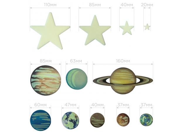 Набор 4M 00-05631 Светящиеся планеты и сверхновые звезды, фото , изображение 10