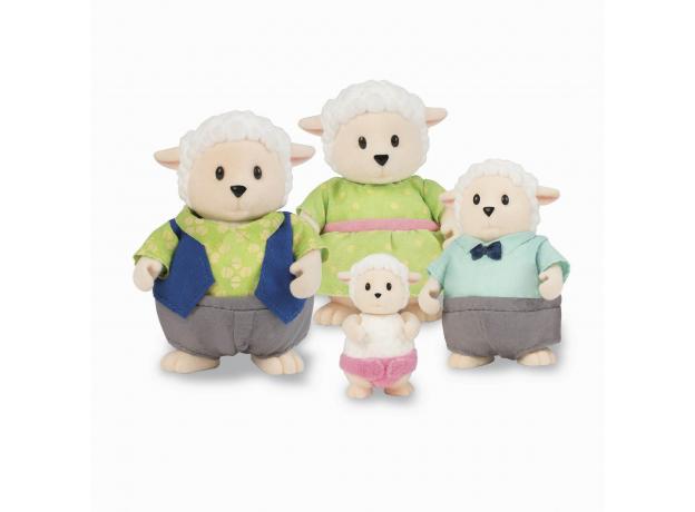 Игровой набор Li'l Woodzeez «Семья овечек», фото
