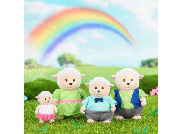 Игровой набор Li'l Woodzeez «Семья овечек», фото , изображение 3