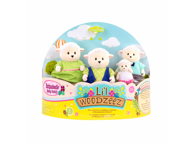 Игровой набор Li'l Woodzeez «Семья овечек», фото , изображение 6