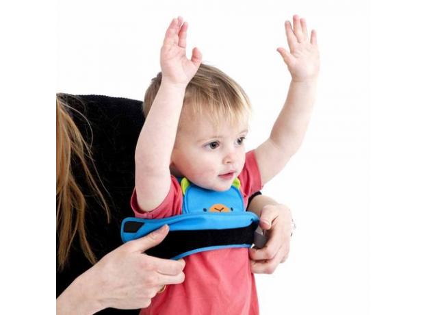 TRUNKI Ремень-поводок учимся ходить голубой Берт 0150-GB01, фото , изображение 3