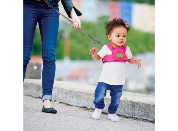 TRUNKI Ремень-поводок учимся ходить розовый Бэтси 0151-GB01, фото , изображение 3