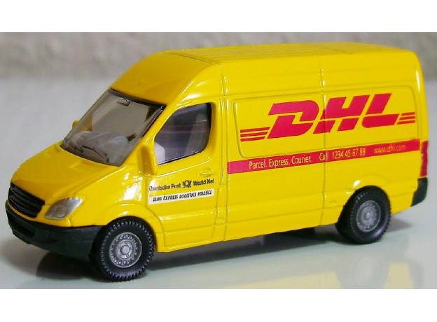 SIKU Почтовый фургон DHL 1086, фото , изображение 3