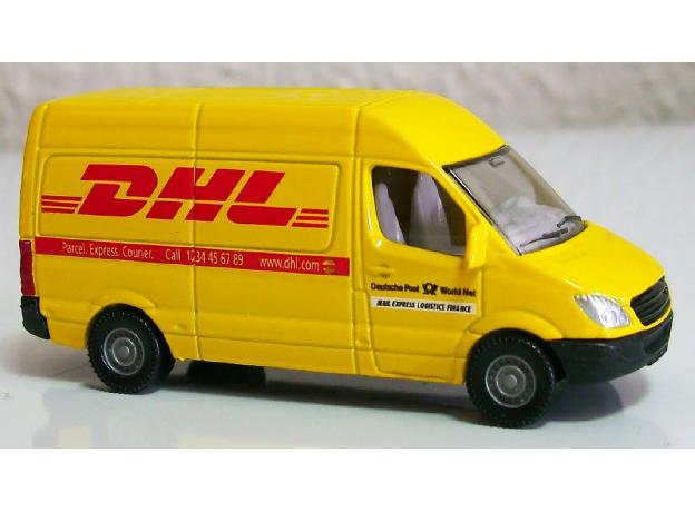 SIKU Почтовый фургон DHL 1086, фото , изображение 4