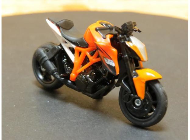 SIKU Мотоцикл спортивный KTM 1384, фото , изображение 3