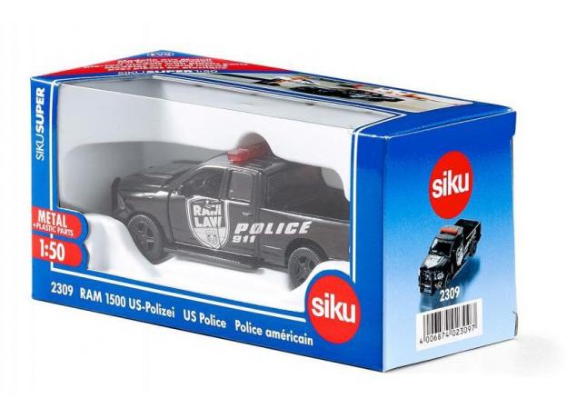 SIKU Машина Dodge RAM 1500 Полиция США 2309, фото , изображение 2