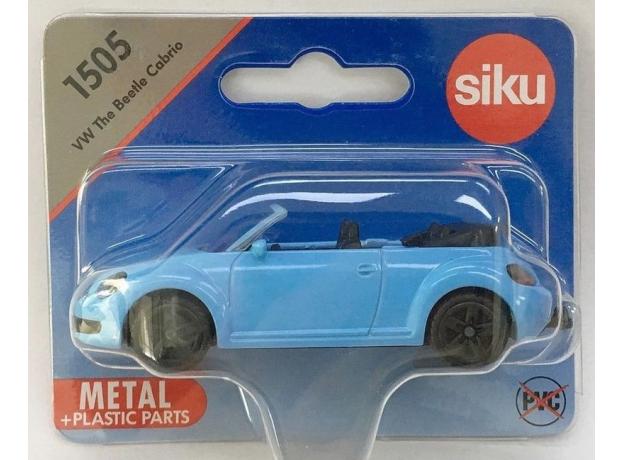 SIKU Машина VW The Beetle кабриолет 1505, фото , изображение 2