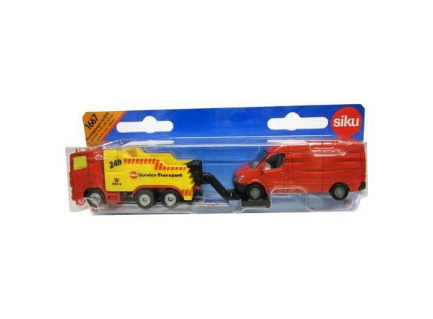 SIKU Сервисный транспорт 1667, фото , изображение 2